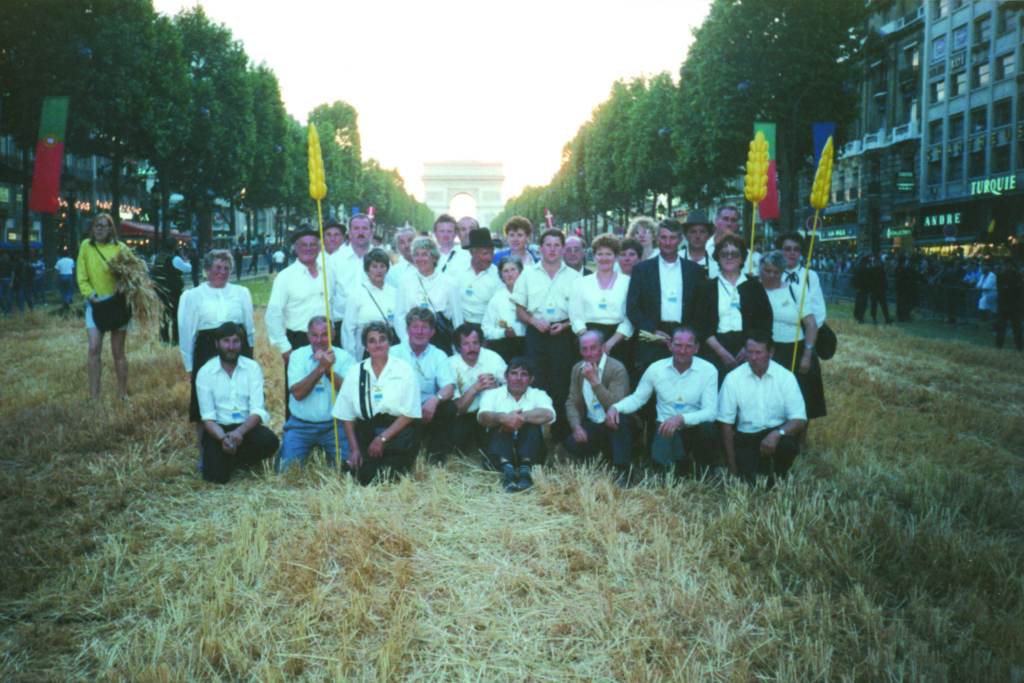 fête de la moisson Paris